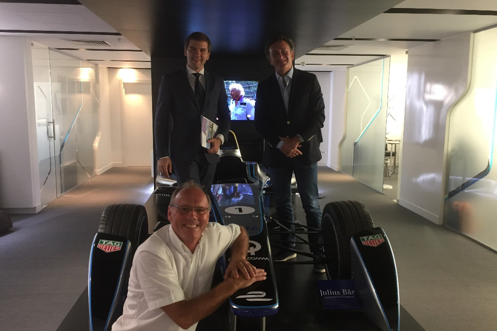 S. Novikov, Rosatom Marketing, A. Agag, Formula E, Dr. Troendle, ITM