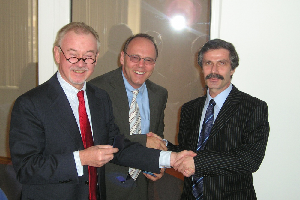 2004 - 03 | Almaty, Kazakhstan and Tashkent, Uzbekistan with Prof. Dr. Uwe Specht, Henkel Executive Board
