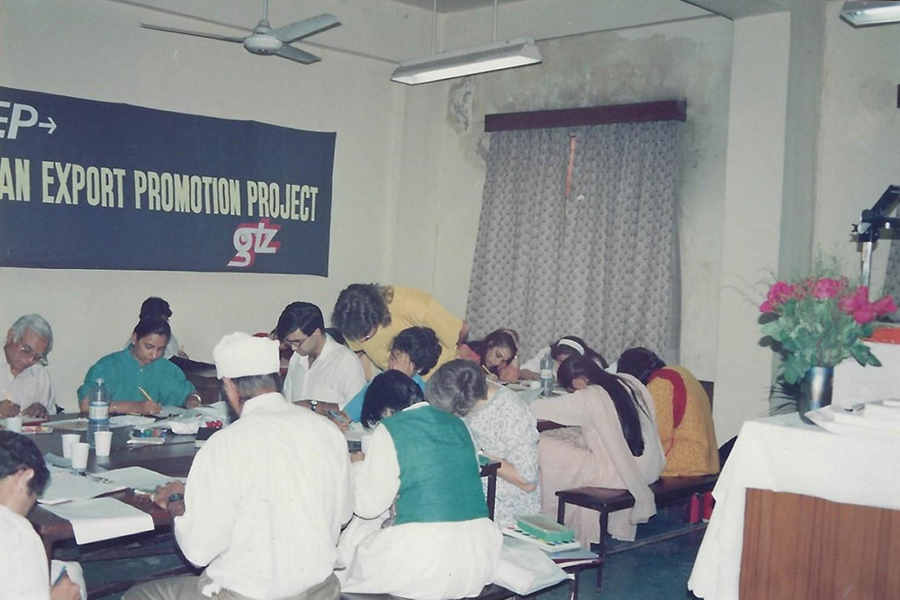 "Training im Rahmen des IGEP – Projektes (""Indian-German. Export-Promotion Project""), Jaipur"
