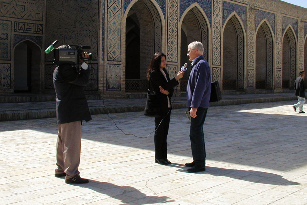 TV-Interview R. Barbian